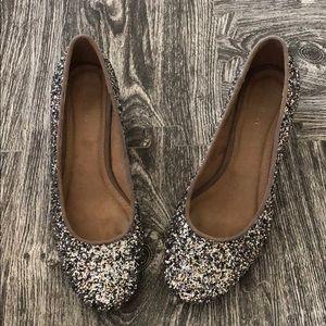 Sparkly glitter heels size 7